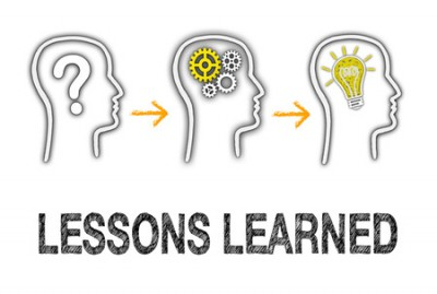 48364040 - lessons learned - education concept