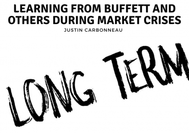 Learning from Buffett and Others During Market Crises