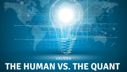 The Human vs. The Quant