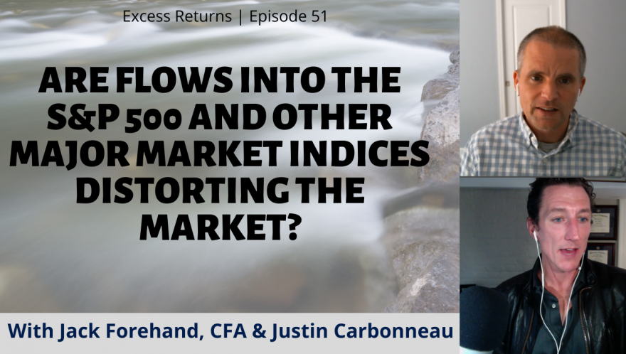 Are Flows Into The S&P 500 And Other Major Market Indices Distorting The Market? (Ep. 51)