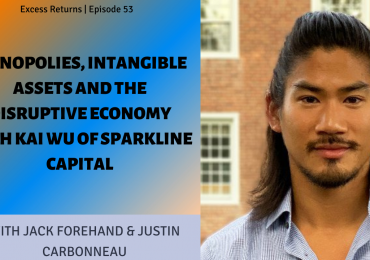 Monopolies, Intangible Assets and the Disruptive Economy with Kai Wu of Sparkline Capital (Ep. 53)