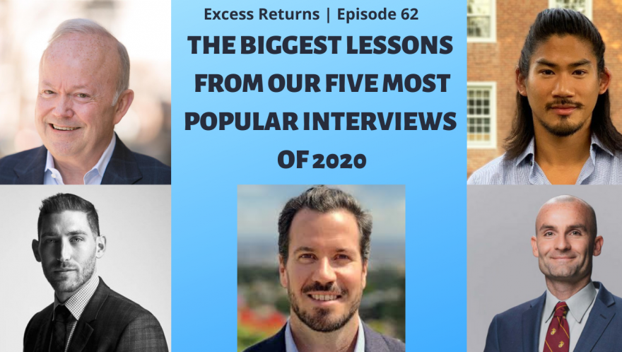 The Biggest Lessons From Our Five Most Popular Interviews of 2020 (Ep. 61)