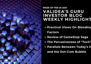Weekly Highlights: Dot-com Parallels, Technology as an Asset Class & Blending Investment Factors