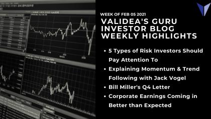 Weekly Guru Investor Highlights: Defining Risk, Momentum & Trend Following, Bill Miller & More