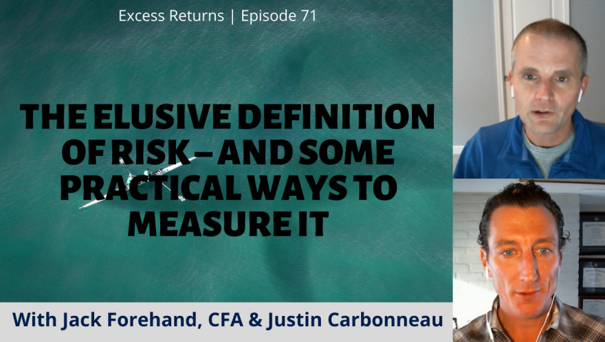 The Elusive Definition of Risk – And Some Practical Ways to Measure It (Ep. 71)