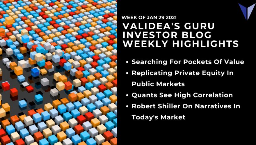 Guru Investor Blog Weekly Highlights: 01/29/2021