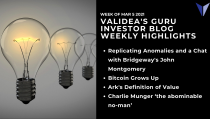 Weekly Highlights: Is Ark a Systemic Risk?, Bitcoin Matures & Why Everyone Needs A Charlie Munger