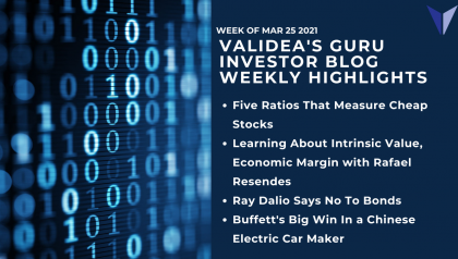 Weekly Highlights: What Value Models are Getting Wrong, Dalio on Bonds and Buffett's Winning Chinese Bet