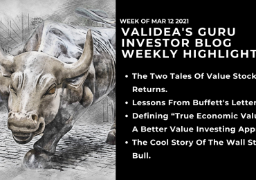 Weekly Highlights: Is Value Back?, Lessons In Buffett's Letter, and the Story of Wall Street's Bull