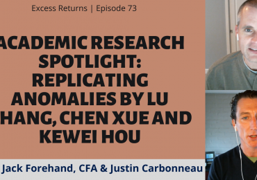 Academic Research Spotlight: Replicating Anomalies by Lu Zhang, Chen Xue and Kewei Hou (Ep. 73)