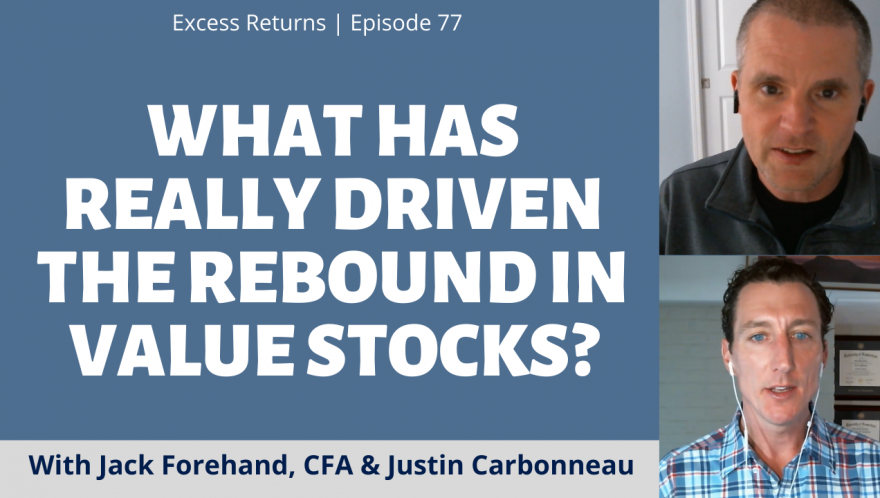 What Has Really Driven the Rebound in Value Stocks? (Ep. 77)