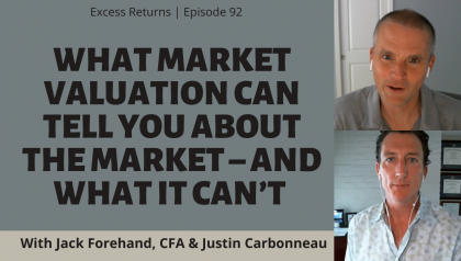 What Valuation Can Tell You About the Market – And What it Can't