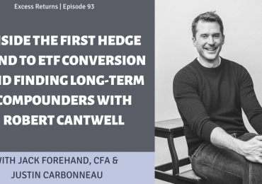 Inside the First Hedge Fund to ETF Conversion and Finding Long-Term Compounders with Robert Cantwell