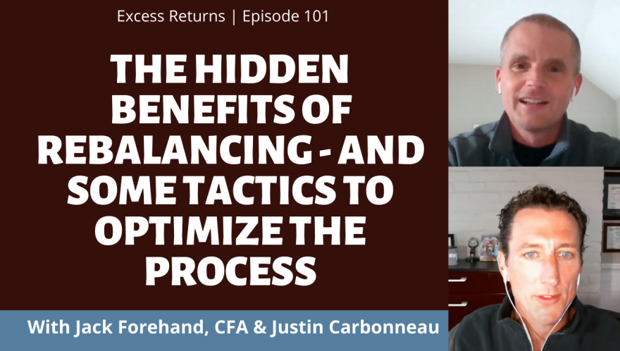 The Hidden Benefits of Rebalancing - And Some Tactics to Optimize the Process