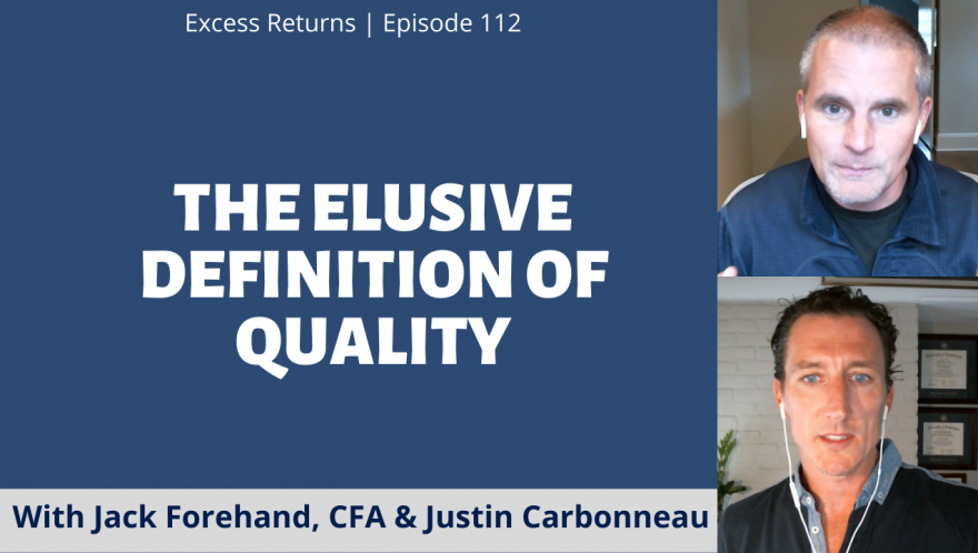 The Elusive Definition of Quality