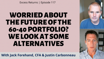Worried About the Future of the 60-40 Portfolio? We Look at Some Alternatives